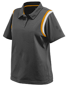 Augusta Drop Ship 5048 - Ladies Wicking Snag Resistant Polyester Sport Shirt with Shoulder Inserts