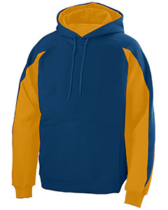 Augusta Drop Ship 5461 - Youth Cotton Poly Athletic Fleece Hoody with Contrast Inserts