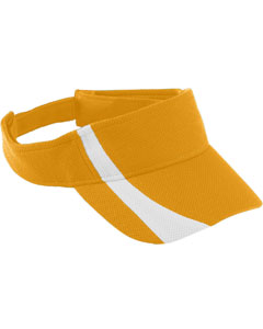 Augusta Drop Ship 6261 - Youth Adjustable Wicking Mesh Two-Color Visor