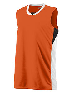 Augusta Drop Ship 724 - Youth Wicking Polyester Duo Knit Sleeveless Jersey