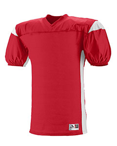 Augusta Drop Ship 9520 - Adult Polyester Diamond Mesh V Neck Jersey with Contrast Dazzle Inserts