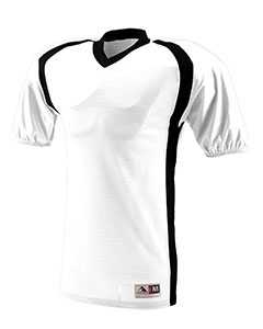 Augusta Drop Ship 9531 - Youth Polyester Diamond Mesh V-Neck Jersey with Contrast Side Inserts