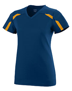 Augusta Drop Ship AG1003 - Girls Wicking Poly Span Short Sleeve Tee Shirt