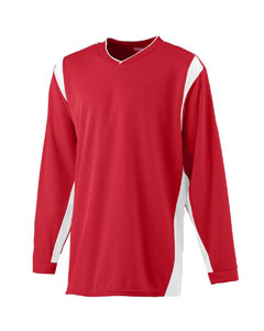 Augusta Drop Ship AS4600 - WICKING Long Sleeve Warmup ShIrt