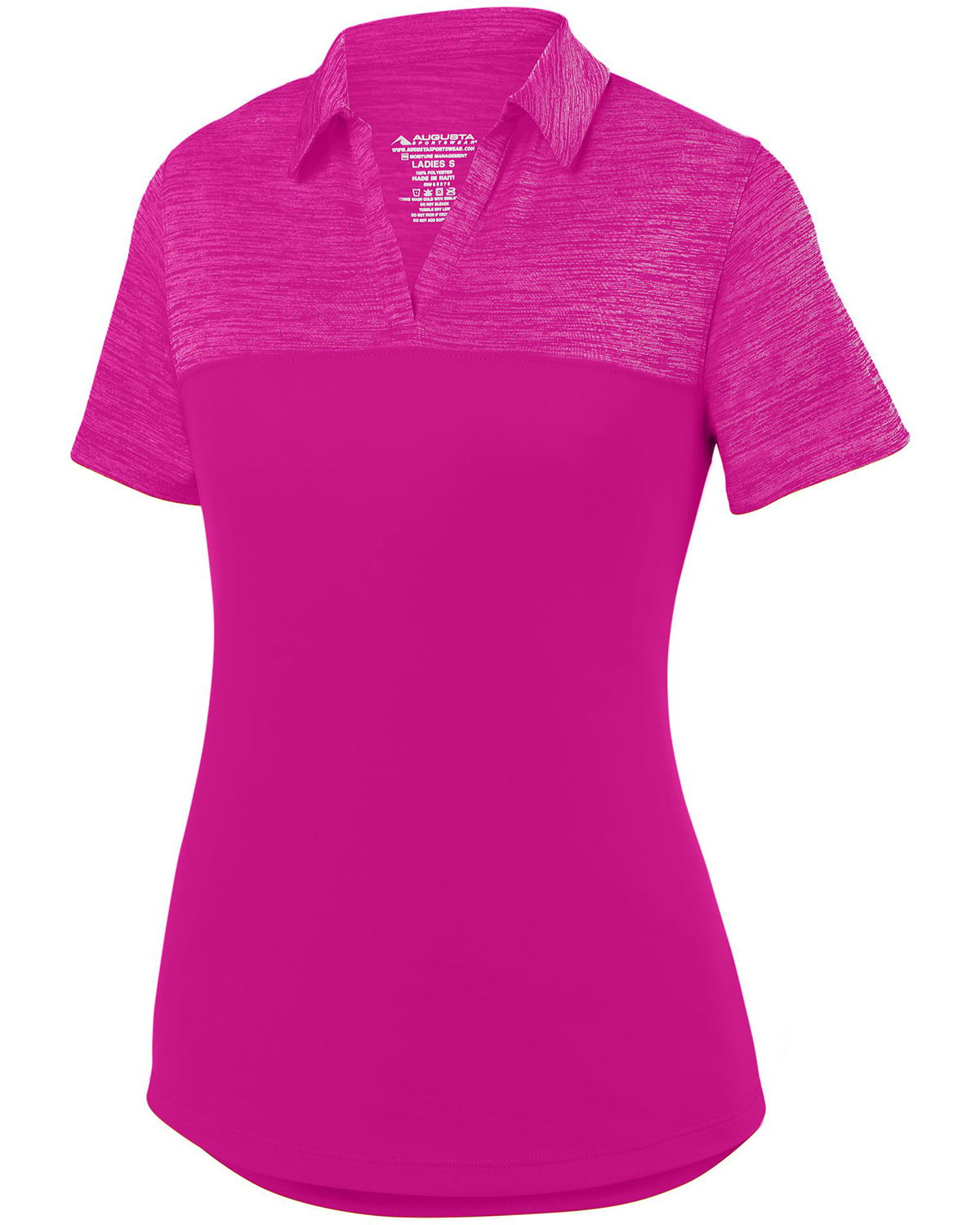 Augusta Drop Ship 5413 - Ladies Shadow Tonal Heather ...
