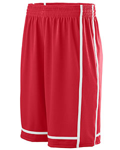 Augusta Sportswear 1185 - Adult Wicking Polyester Shorts with Mesh Inserts