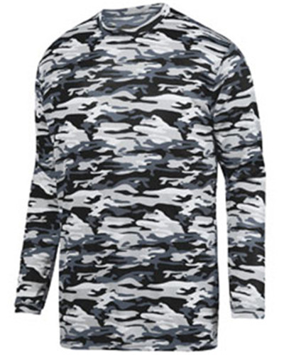 Augusta Sportswear 1808 - Youth Mod Camo Long Sleeve ...