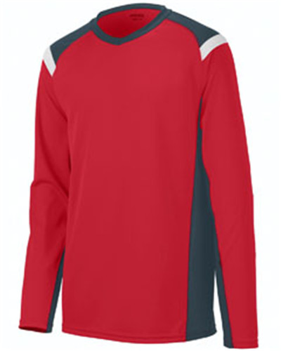 Augusta Sportswear 2506 - Adult Oblique Long-Sleeve ...