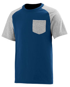Augusta Sportswear 367 - Adult Rockin' It Pocket Tee