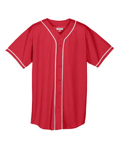Augusta Sportswear 593 - Wicking Mesh Braided Trim Baseball ...