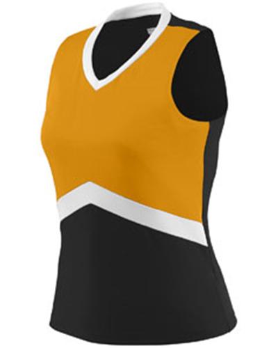 Augusta Sportswear 9201 女生啦啦队健身操无袖运动上衣