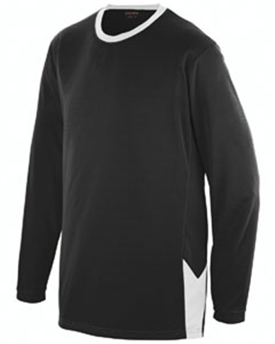 Augusta Sportswear AG1717 - Adult Block Out Long-Sleeve Jersey