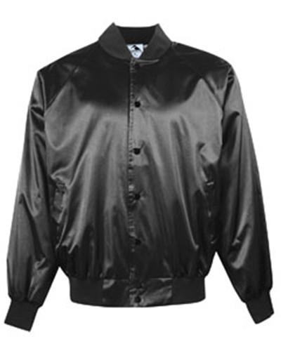 Augusta Sportswear AG3600 - Adult Satin Baseball Jacket with Solid Trim