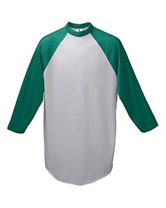 Augusta Sportswear AG4420 - Adult 3/4-Sleeve Baseball ...