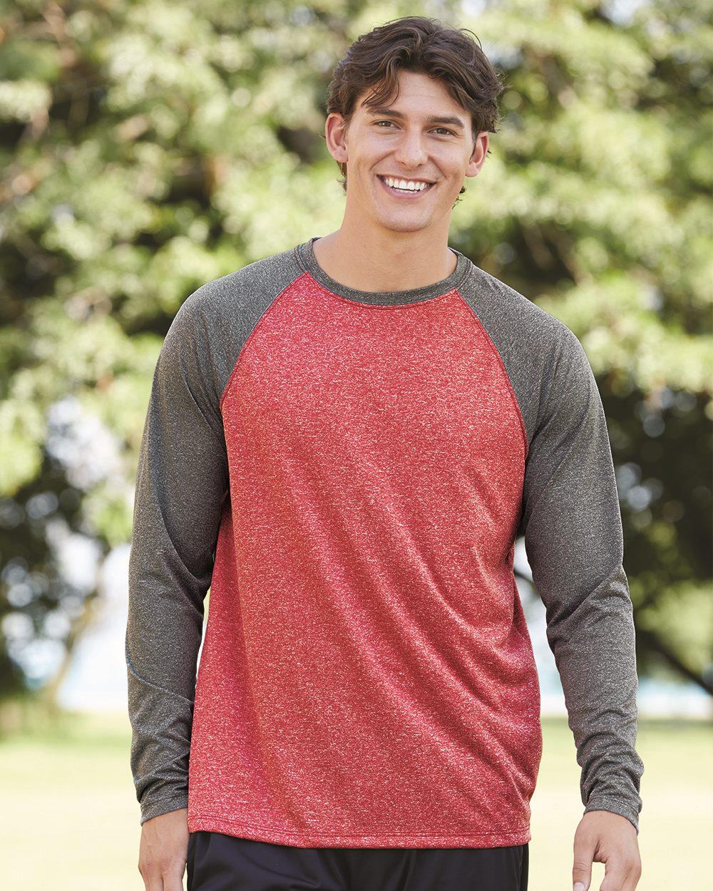 Augusta Sportswear 2815 - Kinergy Raglan Long Sleeve Tee