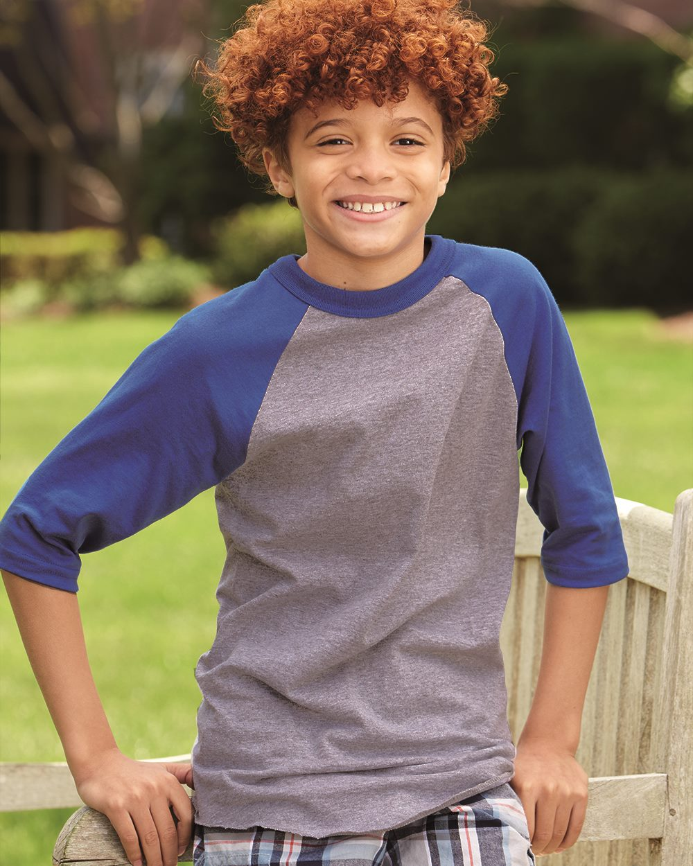 Augusta Sportswear 4421 - Youth Three-Quarter Sleeve ...