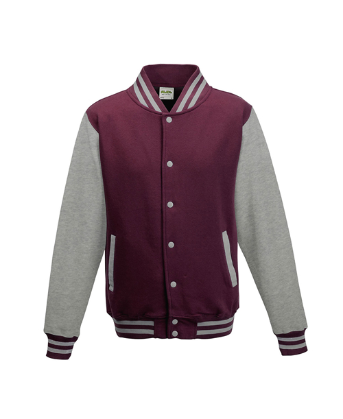 AWDis JHA043 - JUST HOODS Adult Letterman Jacket