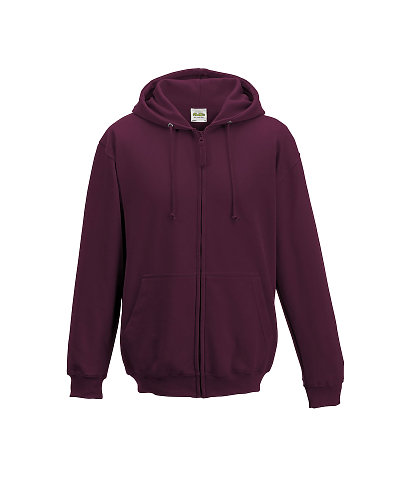 AWDis JHA050 - Just Hoods Adult Full Zip Fleece Zoodie