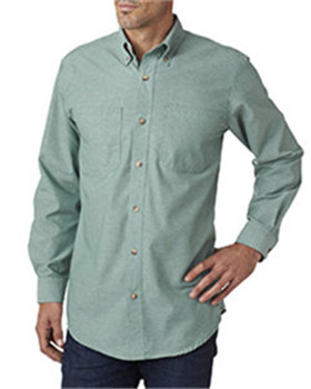 Backpacker BP7004 - Men's Yarn-Dyed Chambray Woven