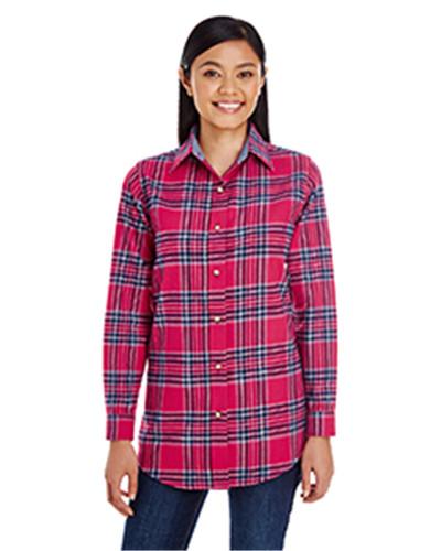 Backpacker BP7030 - Ladies' Yarn-Dyed Flannel Shirt