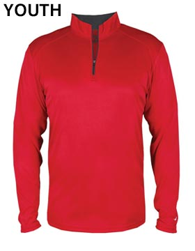 Badger 2102 - B-Core Youth Quarter-Zip Pullover