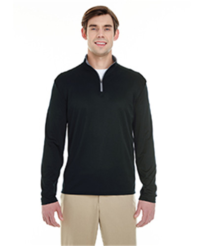 Badger 4102 - Men's Lightweight Long-Sleeve Quarter-...