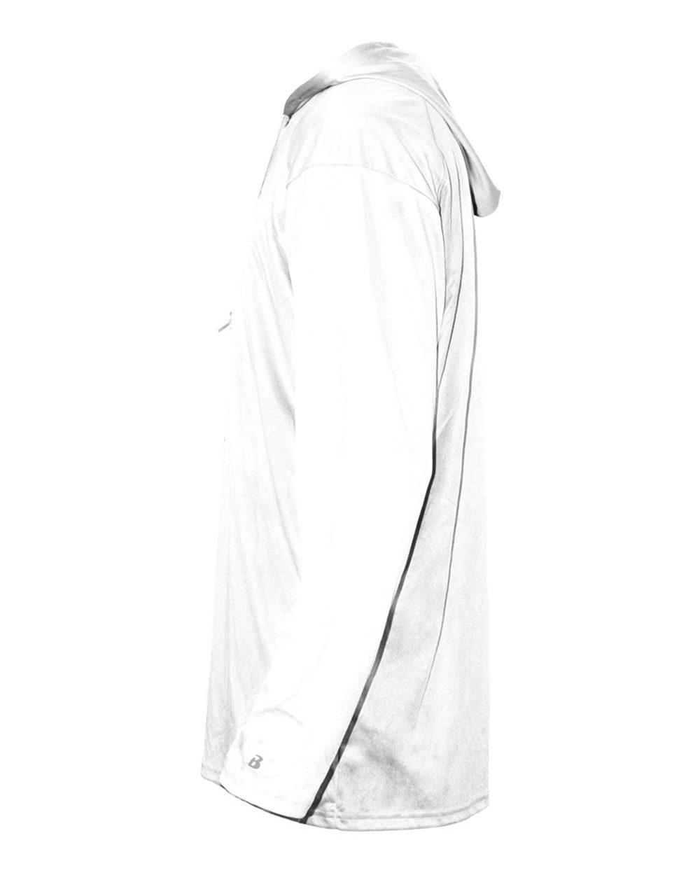Badger 4105 - B-Core Long Sleeve Hooded T-Shirt