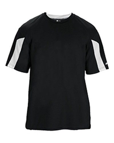 Badger 4176 - Adult Striker Performance Colorblock Short-Sleeve T-Shirt