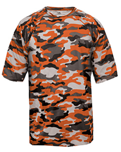 Badger 4181 - Adult Camo Short-Sleeve T-Shirt
