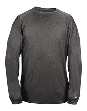 Badger 4304 - Pro Heather Long Sleeve Tee