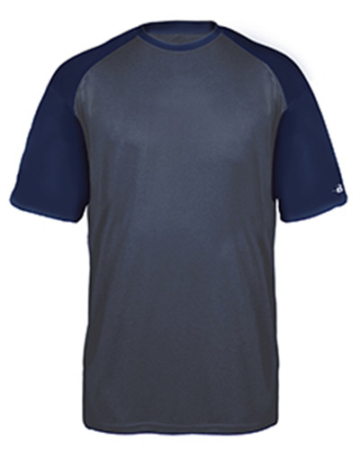 Badger 4343 - Adult Sport Heather Tonal Short-Sleeve T-Shirt