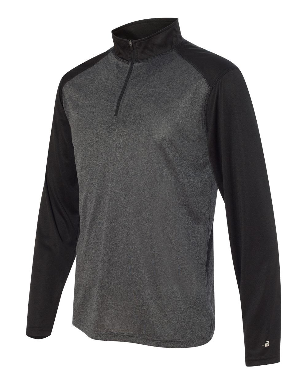 Badger 4394 - Pro Heather Quarter-Zip Pullover