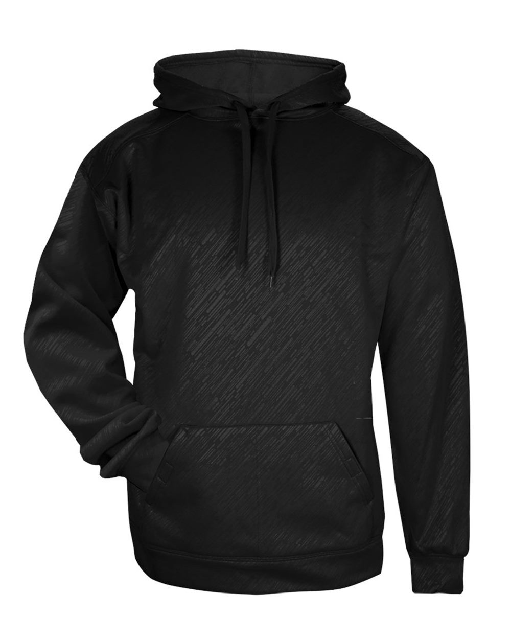 Badger 1431 - Line Embossed Hooded Pullover Performance ...