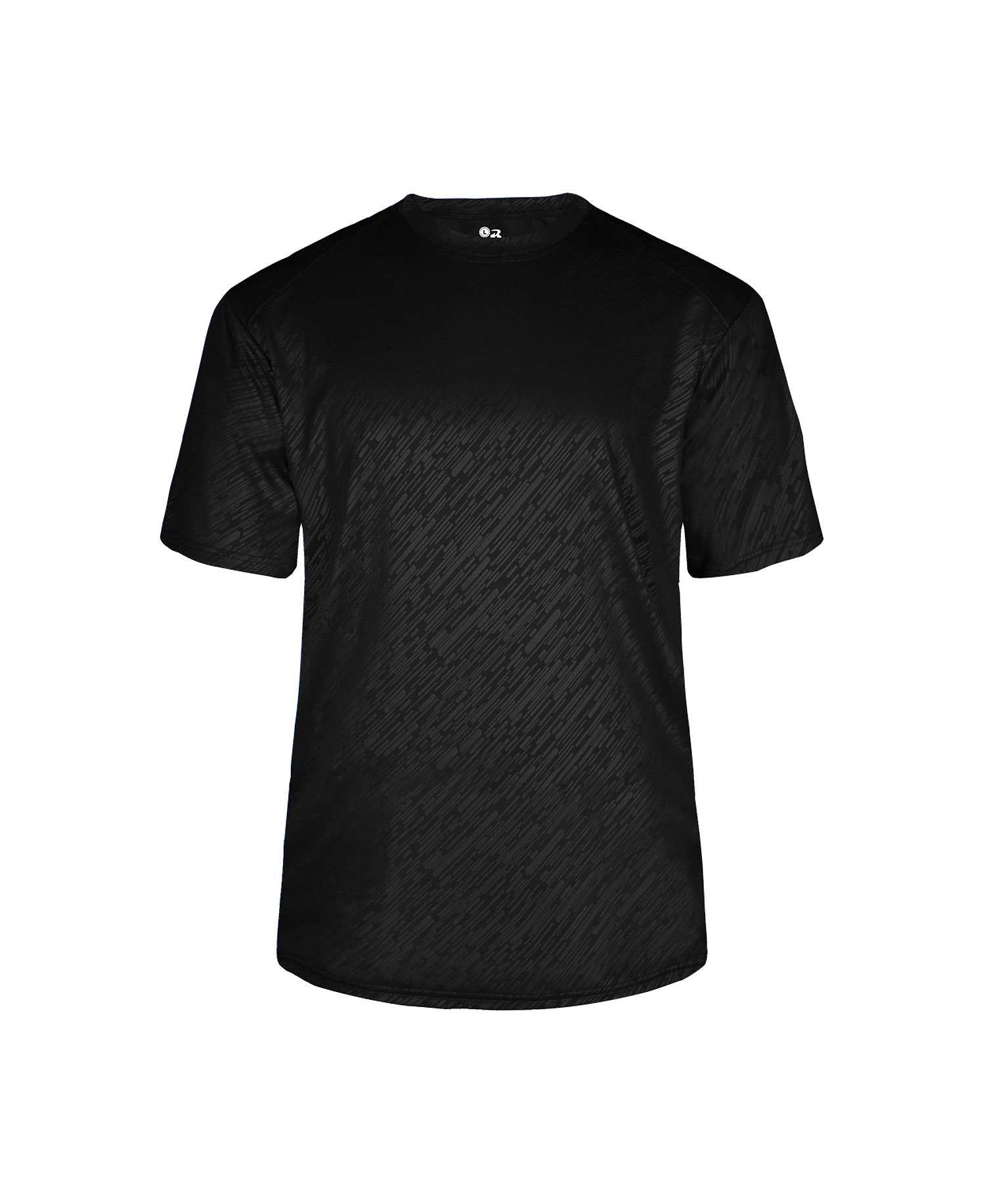 Badger Sport 2131 - Youth Lined Embossed Tee