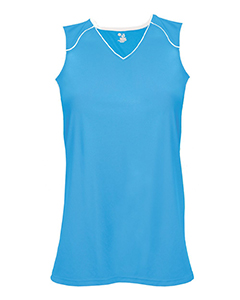 """Badger Sport 2172 - B-Core Girls """"Curve"""" Performance Athletic Jersey"""