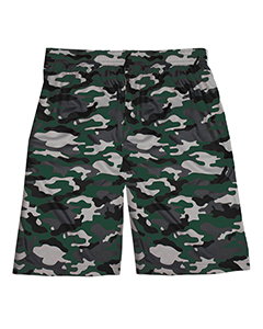 Badger Sport 2188 - Youth Camo Sublimated Short