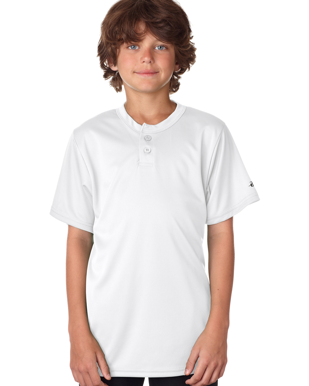 Badger Sport B2930 - Youth B-Core Henley Tee