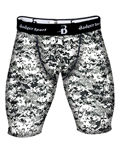 Badger Sport B4608 - Men's Digital Compression 8 Shorts