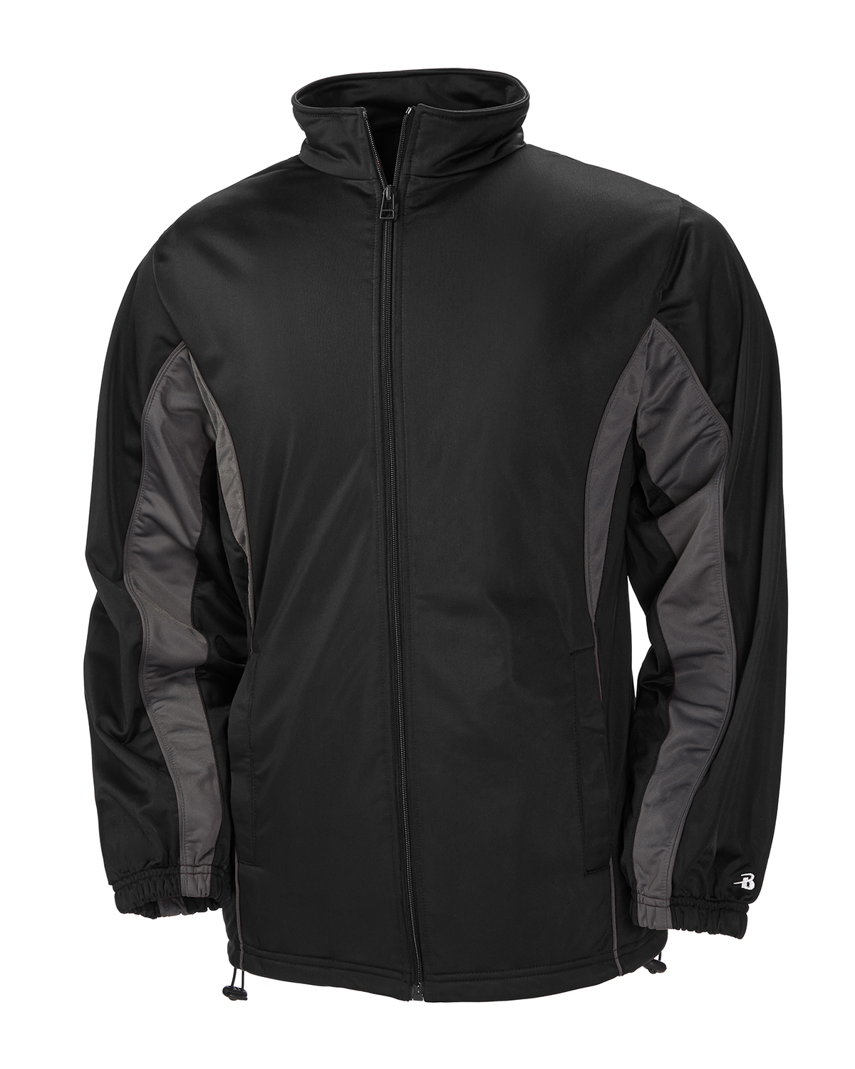 Badger Sport B7703 - Adult Brushed Tricot Drive Jacket