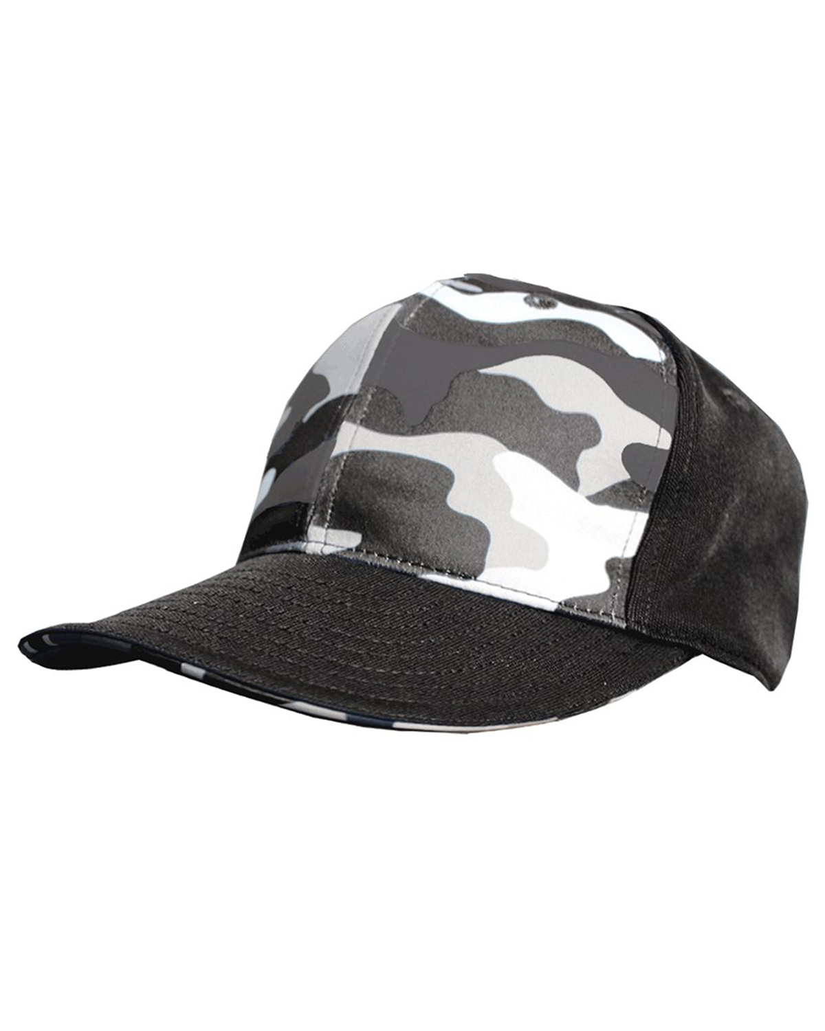 Badger Sport S326 - Camo Front Panel Hat