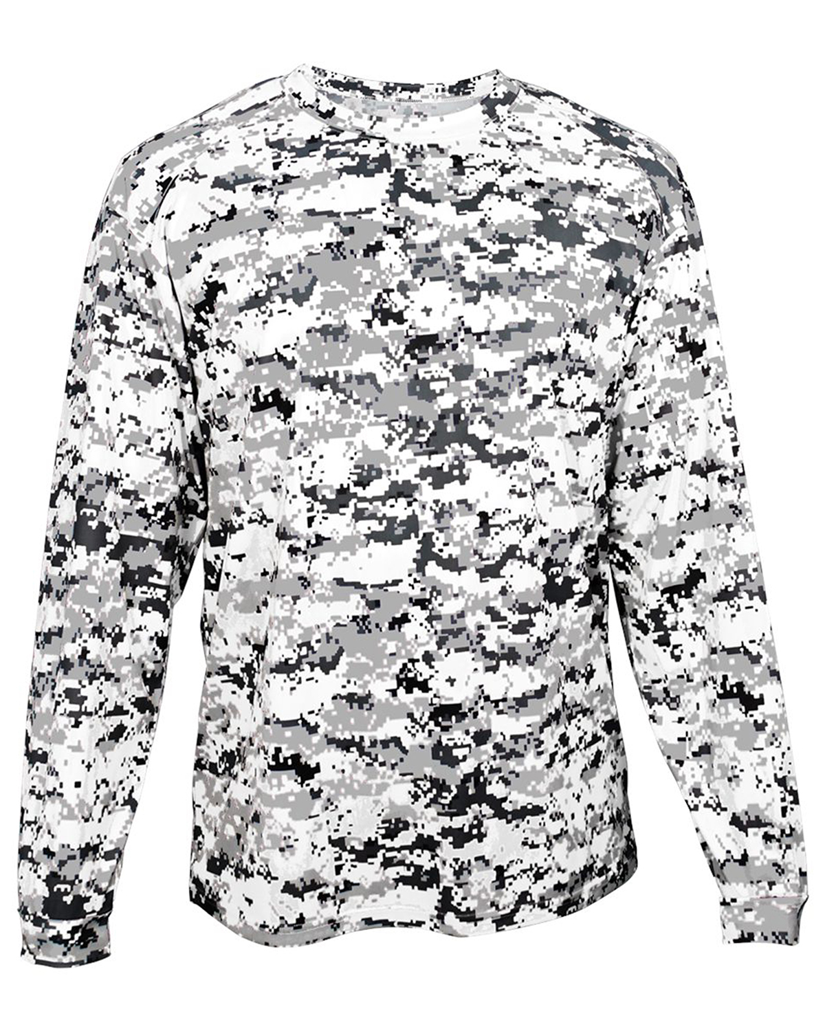 Badger Sport Sport Sport 4184 - Adult Digital Long-Sleeve ...