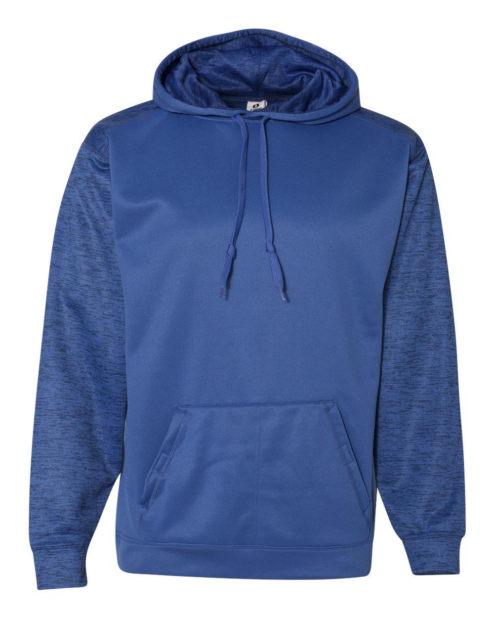Badger 1461 - Sport Tonal Blend Fleece Hood