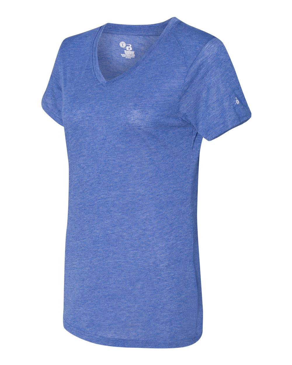 Badger 4962 - Triblend Performance Women's V-Neck T-Shirt