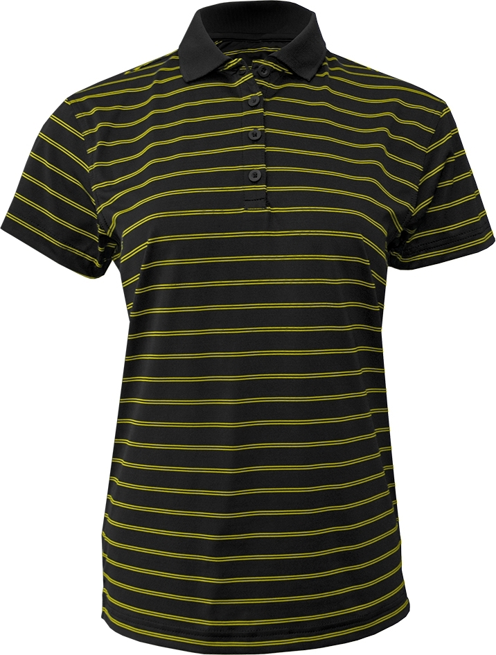 BAW Athletic Wear CT1061 - Ladies Wide Stripe Polo