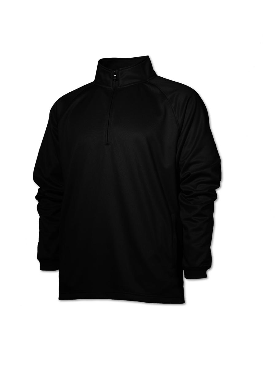 BAW Athletic Wear F125/F125H - Adult Quarter Zip Sweatshirt
