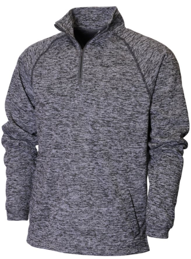 BAW Athletic Wear F325 - Adult Vintage Heather 1/4 Zip