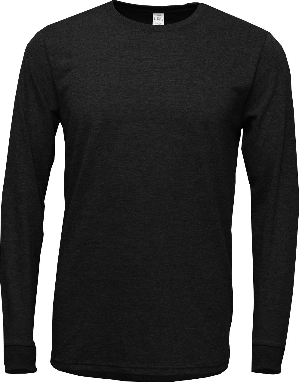 BAW Athletic Wear TR92 - Unisex Tri-Blend T-Shirt Long Sleeve