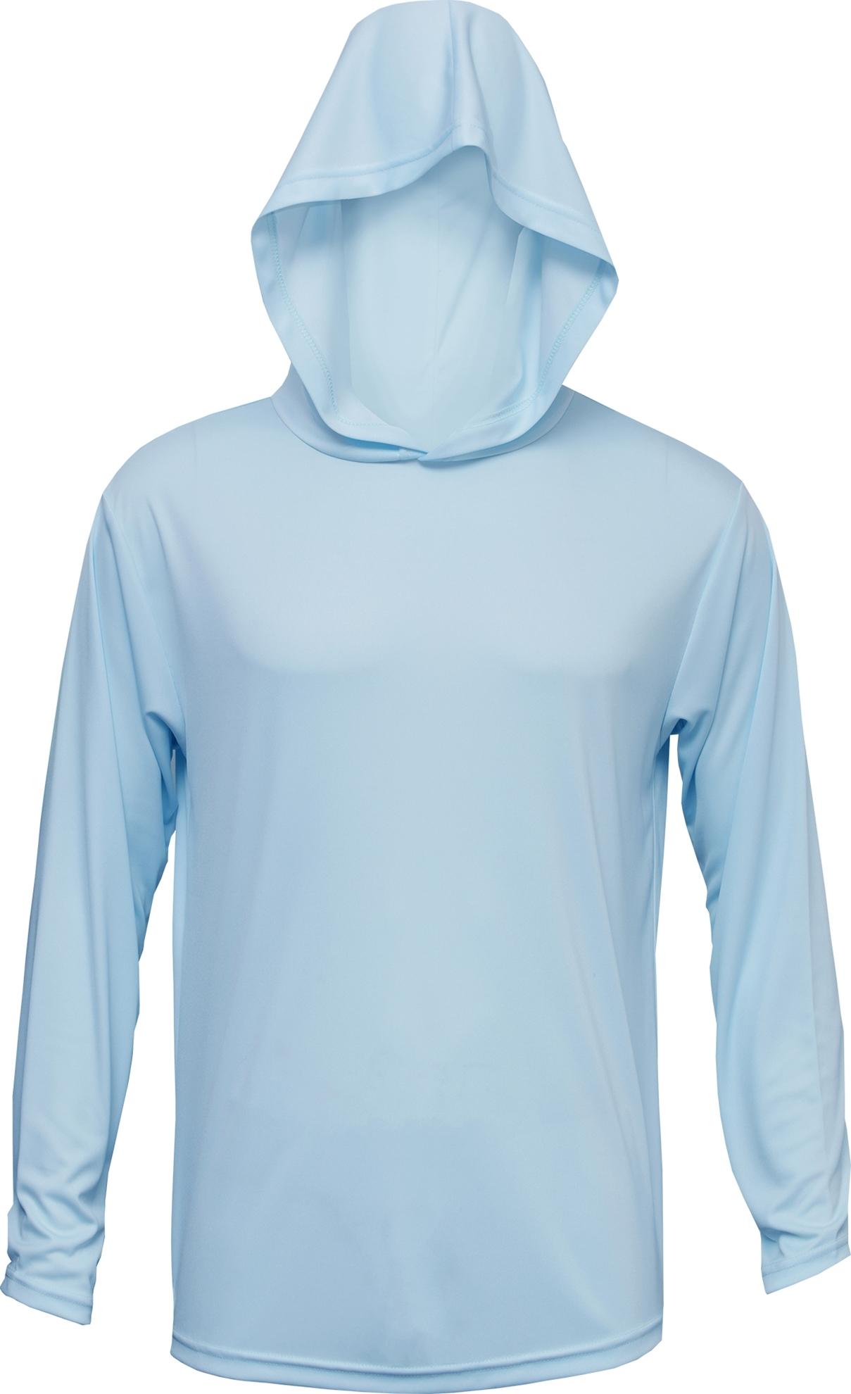 BAW Athletic Wear XT106 - Adult Xtreme-Tek Long Sleeve Hood