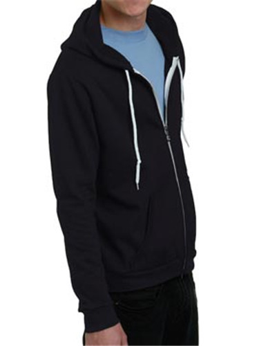 Bayside 875 - Unisex Full Zip Light Weight Fleece