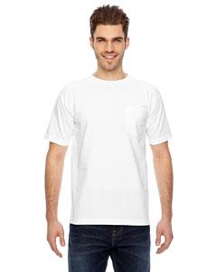 Bayside BA7100 - 6.1 oz. Basic Pocket T-Shirt